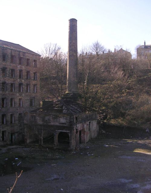 Derelict Mill off Old Lane