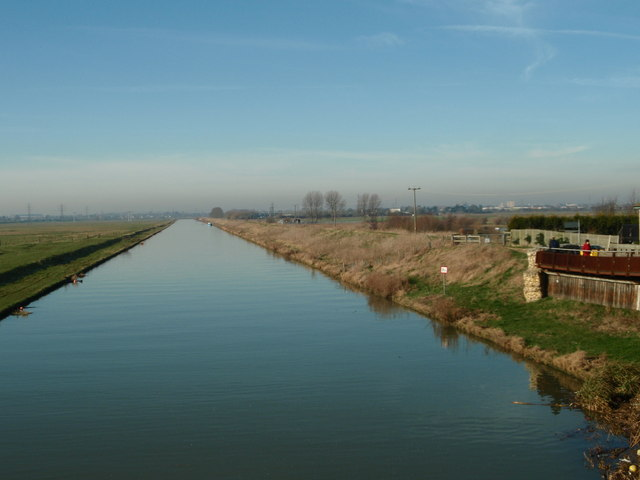 River Nene Looking towards Peterborough