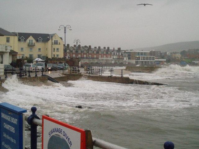 Stormy Swanage