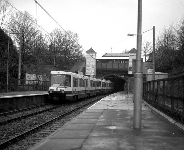 Heaton Park station