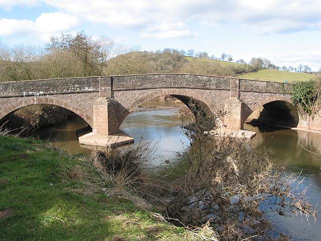 Skenfrith Bridge
