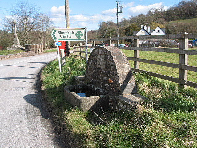 Roadside water trough, Skenfrith