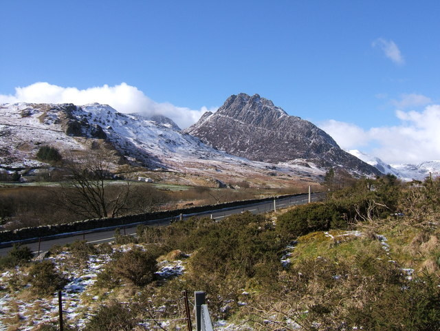 Tryfan, from the east