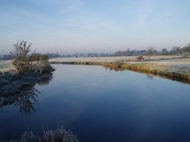 Frosty morning over the Nene