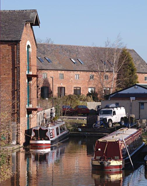 Canalside warehouses, Shardlow