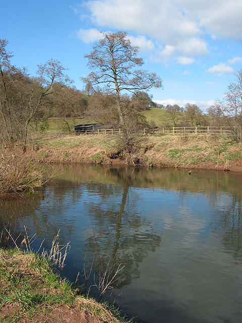 The gently flowing Monnow