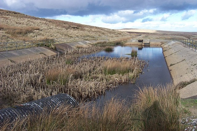 Catchment Pond at Lads Grave