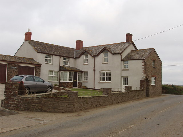 Farmhouse at Buttsbear Cross