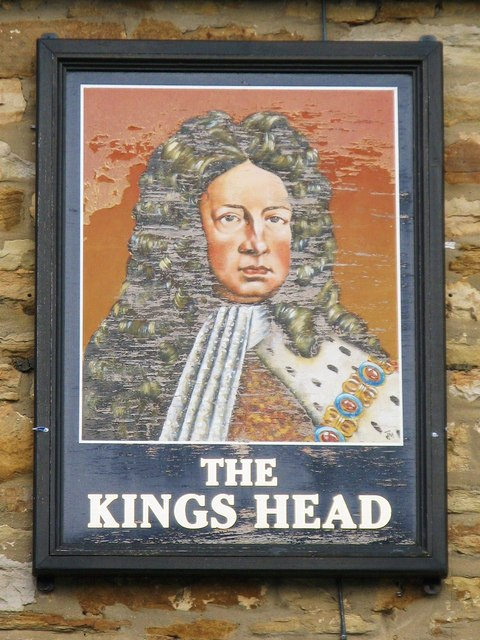 Sign for the Kings Head