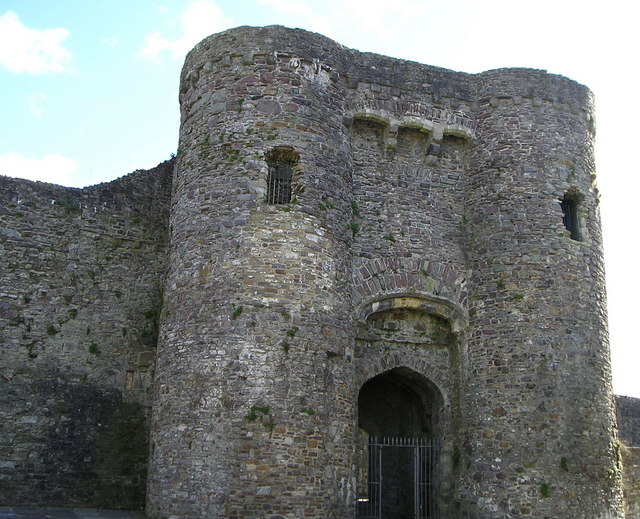 Gatehouse of Carmarthen Castle