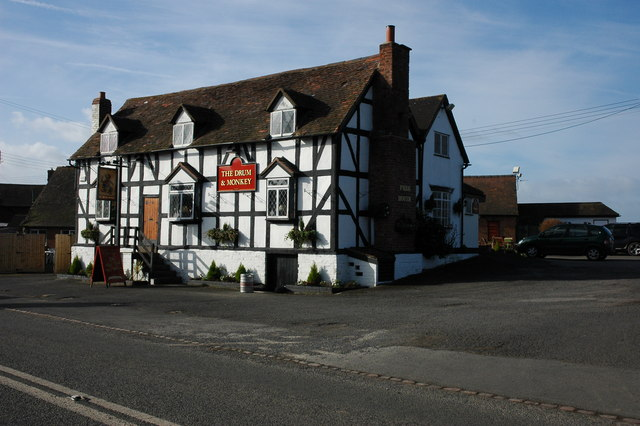 The Drum and Monkey near Upton upon Severn