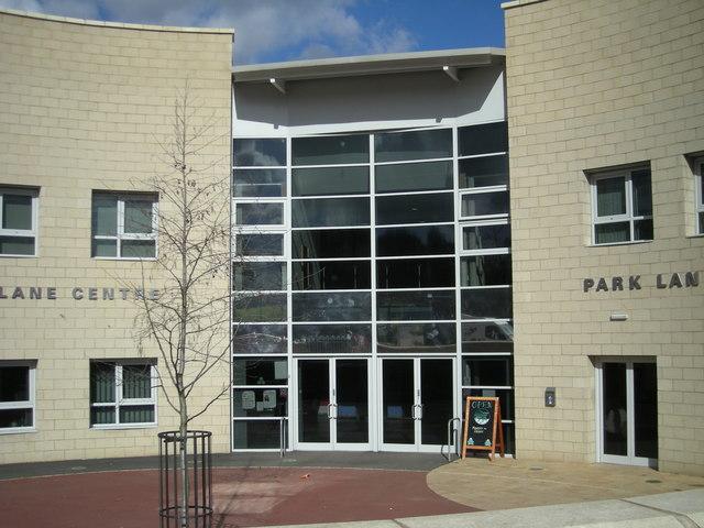 Entrance to the new Park Lane Community Centre, Woodside.