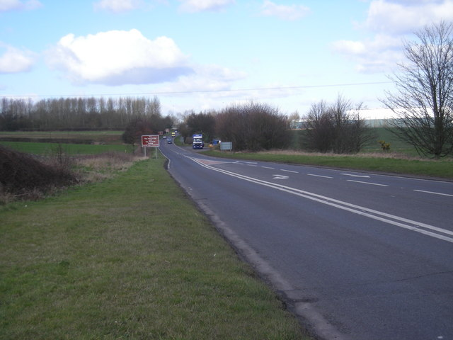 A racetrack also known as the A442.