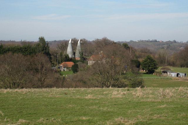 Lomas Oast, Lomas Lane, Sandhurst, Kent