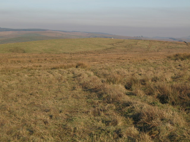 Rough pastures below Bundle Hill