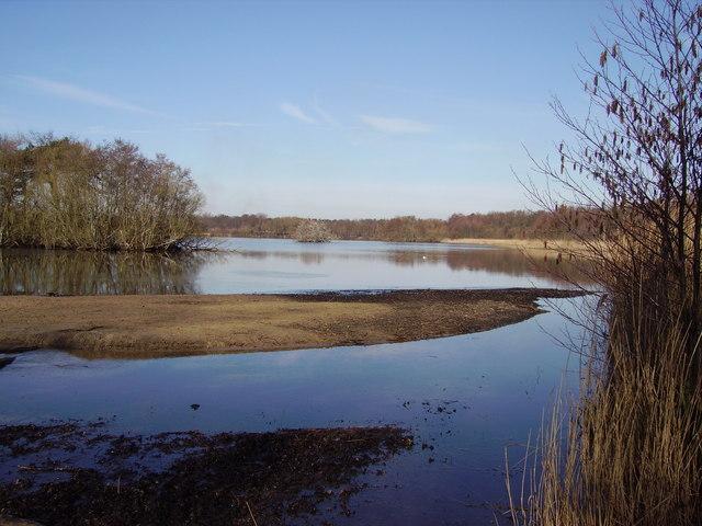 Fleet Pond from Sandy Bay
