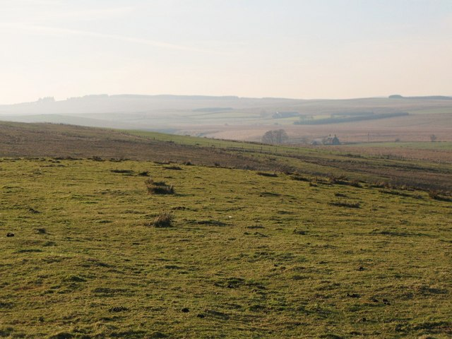 Rough pastures south of Farglow and High Tipalt