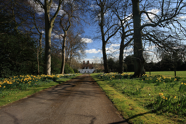 Springtime at Houghton Lodge