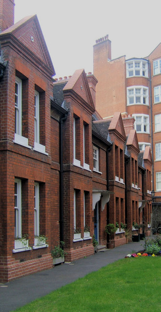 United Westminster Almshouses, Rochester Row, London SW1