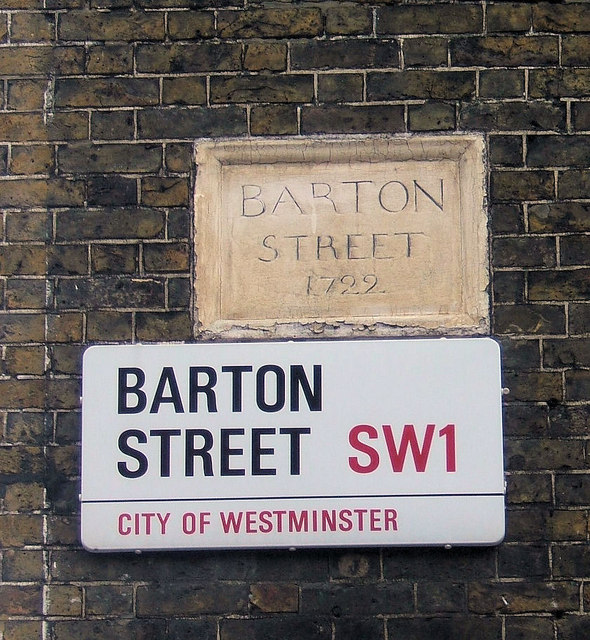Barton Street, London SW1
