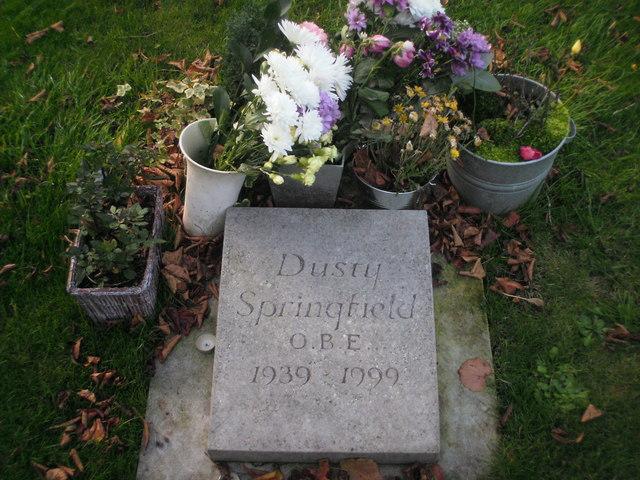 Dusty Springfield's grave