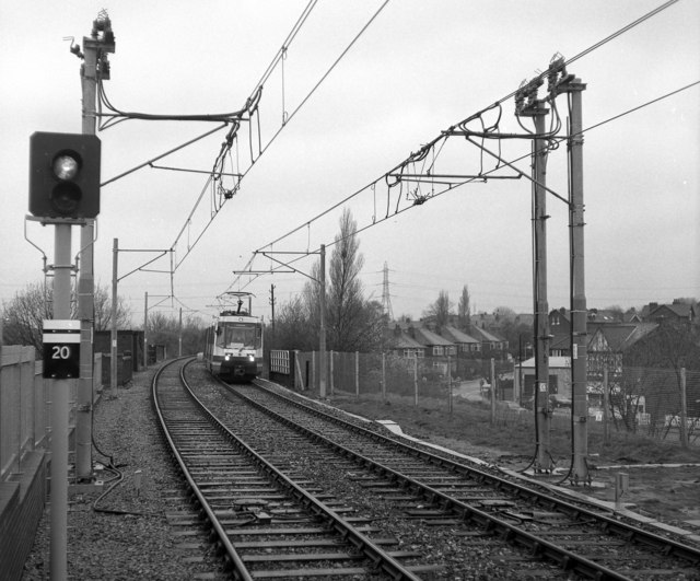 Looking north from Prestwich