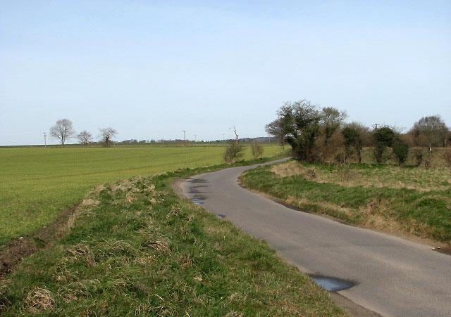 View north along Back Lane