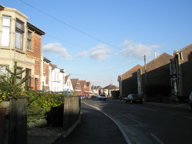 Bend in Knowlsley Road