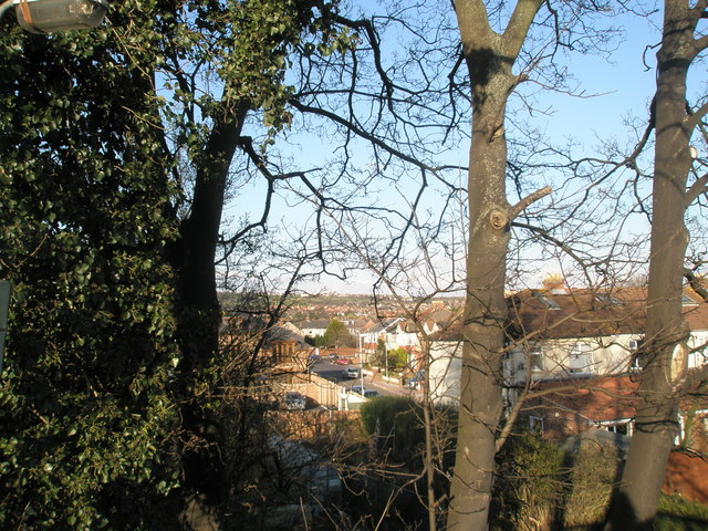 Looking towards East Cosham