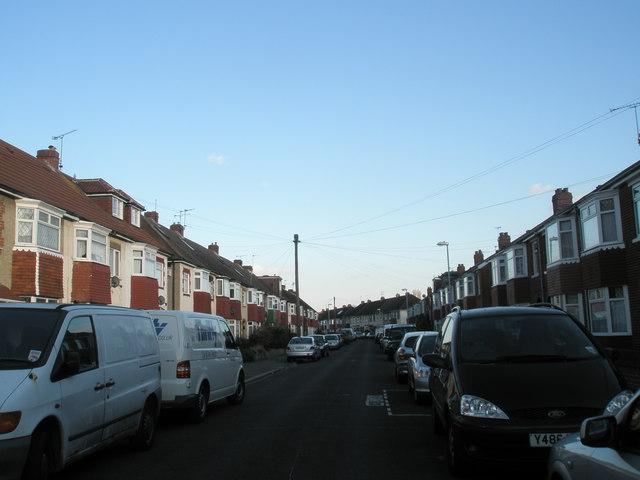 Rosebery Avenue, Cosham