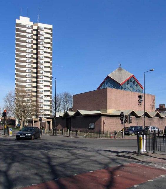St Paul's Church, Burdett Road, London E3.