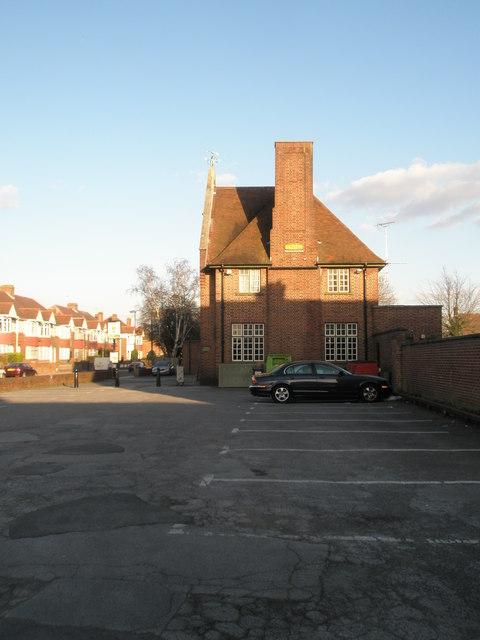 "Side view of ""The Manor"", Cosham"