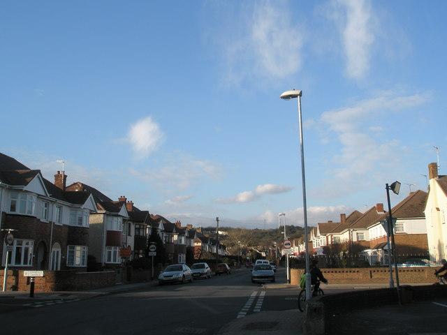 Crossroads in Court Lane