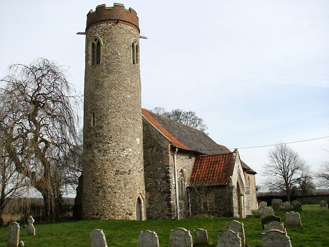 The church of St Peter & St Paul