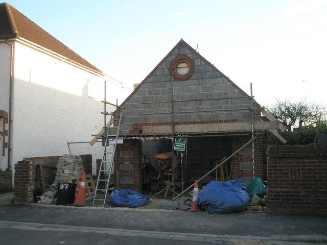 New building in Langdale Avenue