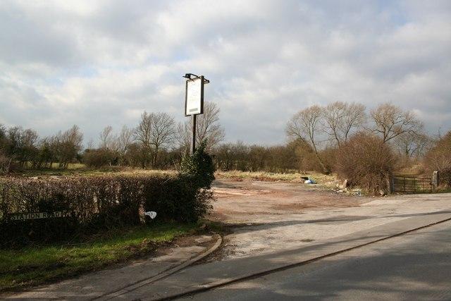 The Railway Inn - gone !
