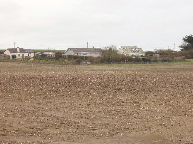 Ploughed field at Rosmoran