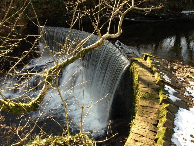 River Calder Weir