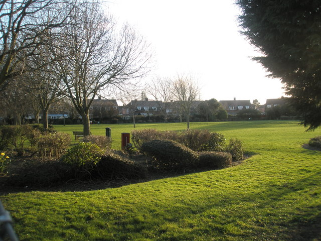 Small park in Braemar Avenue