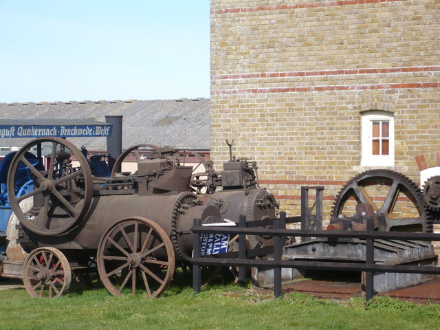 One example of many steam machines at Preston Court Farm
