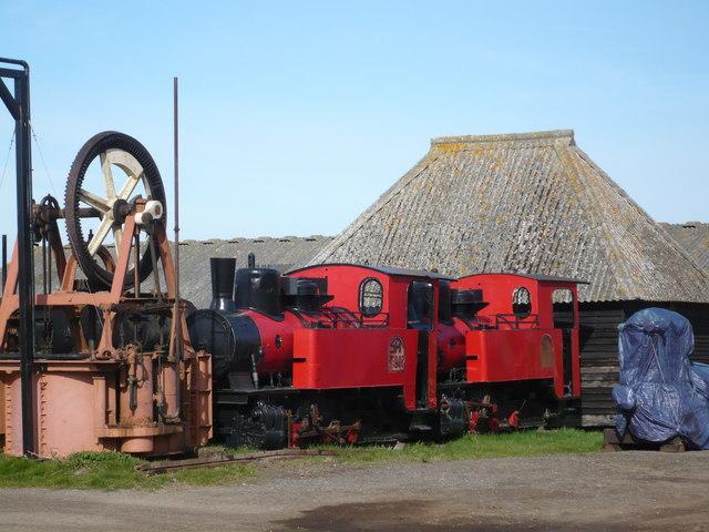 Steam locomotives at Preston Court Farm