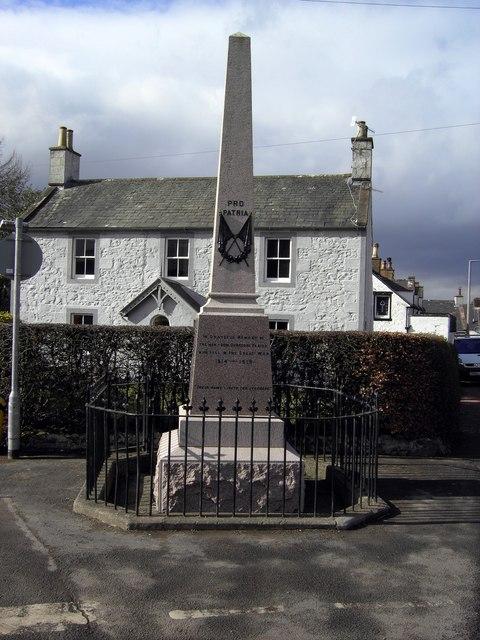 Dunscore war memorial