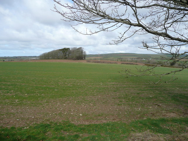 View north of St. Mawgan Airfield