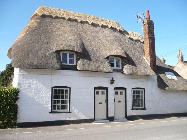 Cottages on Stourmouth Road, Preston