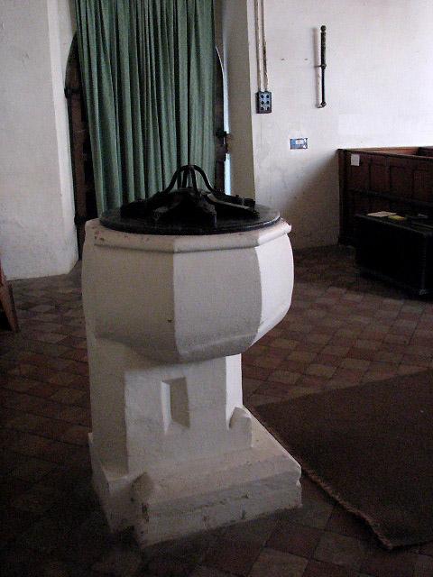 St Andrew's Church - baptismal font