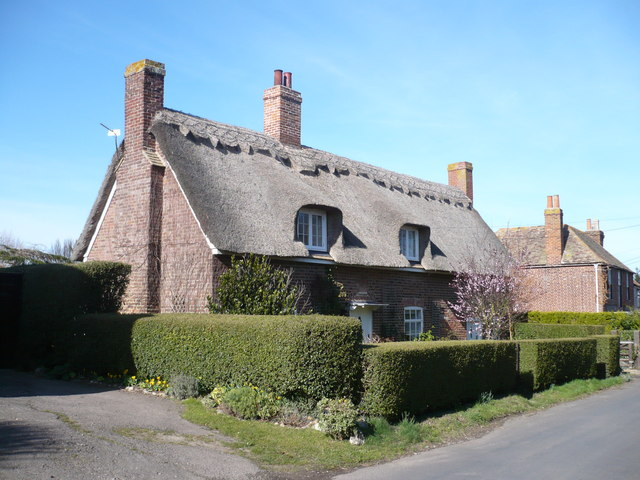 Cottages on Church Lane, West Stourmouth