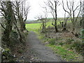 SW8767 : Bridleway to Retorrick by Jonathan Billinger
