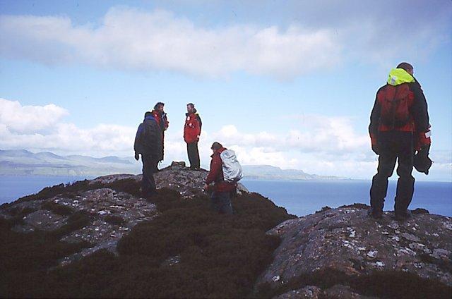 The summit, Meall Mòr
