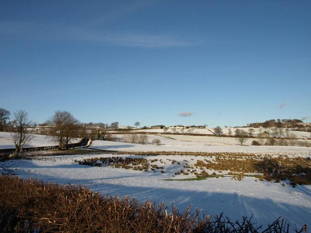 View to Sandieston Farm