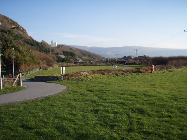 Hendre Mynach Campsite in February 2008